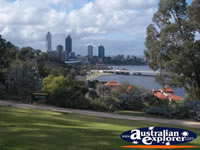 Perth Roe Lookout Western Australian Botanic Gardes Kings Park . . . CLICK TO ENLARGE