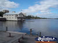Swan River from the Old Perth Port.