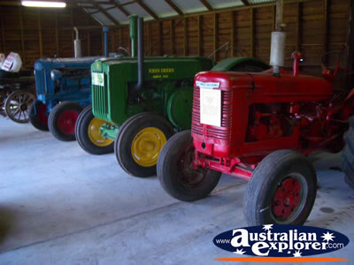 Pinjarra Visitor Centre Roger May Museum with Farm Machinery . . . VIEW ALL PINJARRA PHOTOGRAPHS