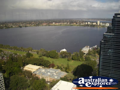 View From St Martins Tower . . . CLICK TO VIEW ALL PERTH (VIEW FROM C RESTAURANT) POSTCARDS