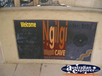 Yallingup Ngilgi Cave Welcome Sign . . . CLICK TO ENLARGE